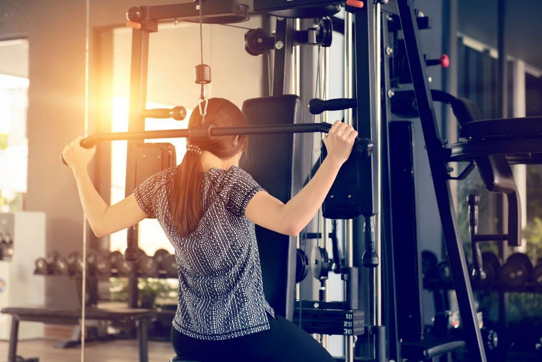 How To Build Muscles With Lat Pulldown Machine?
