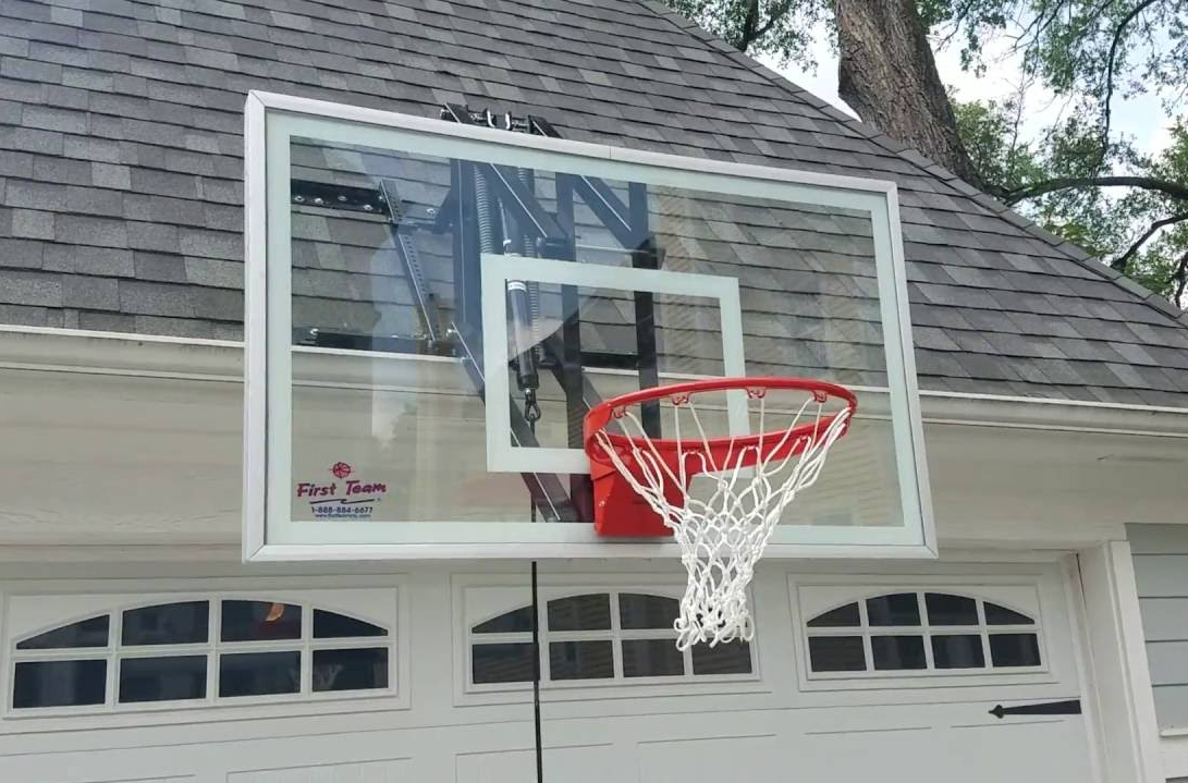 How To Put A Basketball Hoop On A Garage?